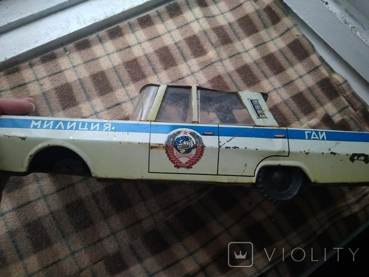 Машинка жесть Кубань Милиция СССР Большая, фото №9