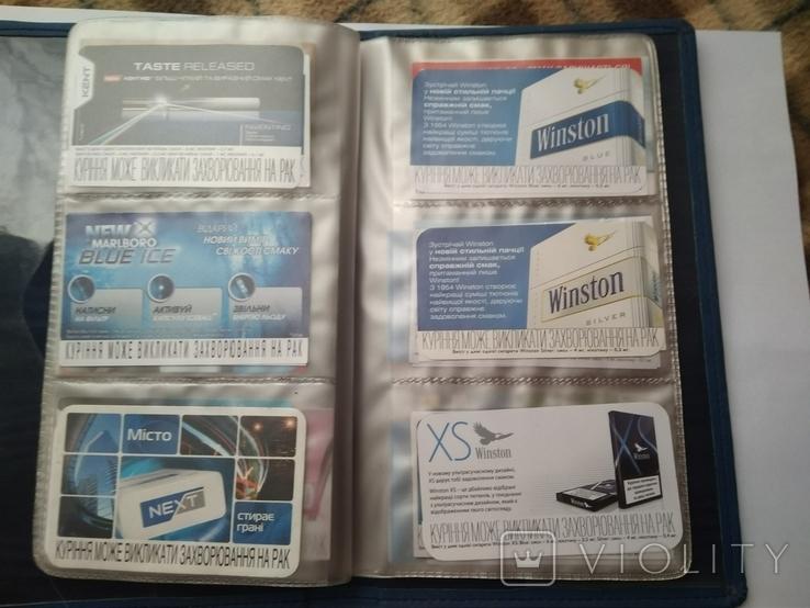 Сигаретные вкладыши более 200 штук + много повторов, фото №7