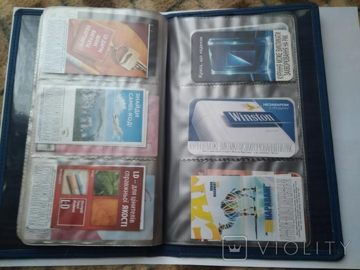 Сигаретные вкладыши более 200 штук + много повторов, фото №10
