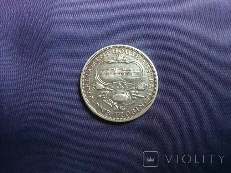 1 флорін 1927 рік Австралія, фото №4