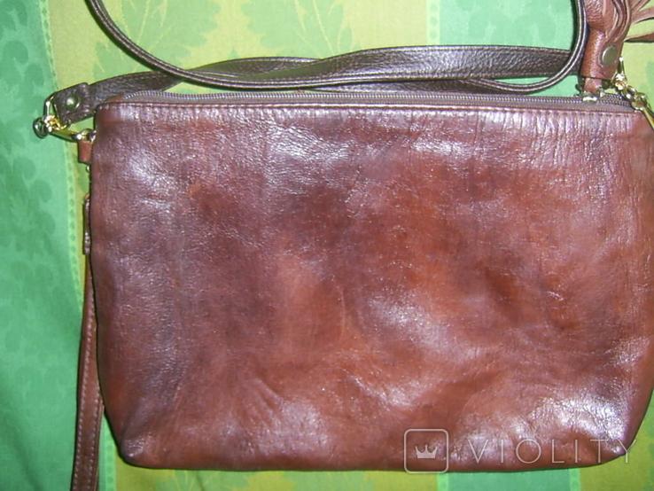 Сумка-клатч с вышивкой и декором, фото №5