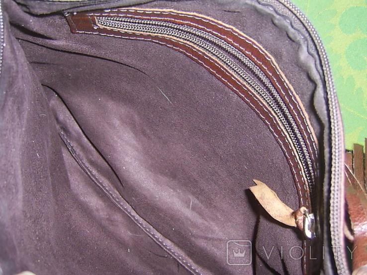 Сумка-клатч с вышивкой и декором, фото №6