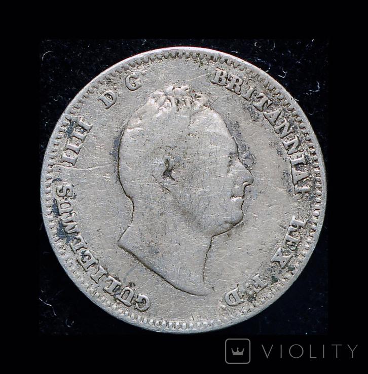 Британская Гайана 1/4 гульдера 1836 серебро, фото №3