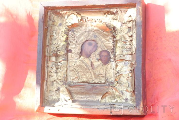 Икона старая, фото №3