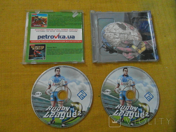 Диск-игра для компютера.№111.цена за 2 диска, фото №2