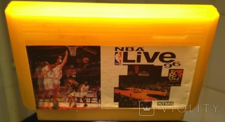 Картридж NBA LIVE 96, фото №3