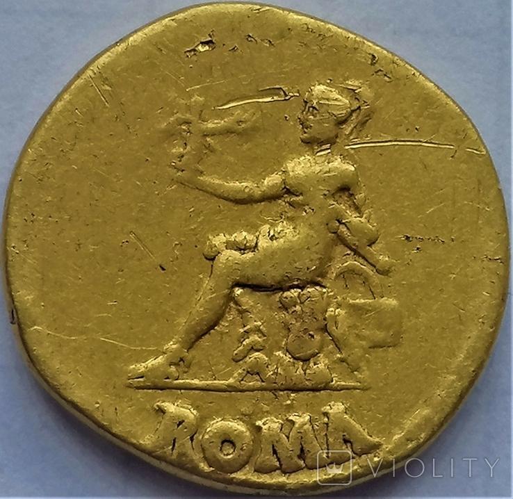 Ауреус Нерона, Римська імперія, 54-68 рр., золото, фото №3