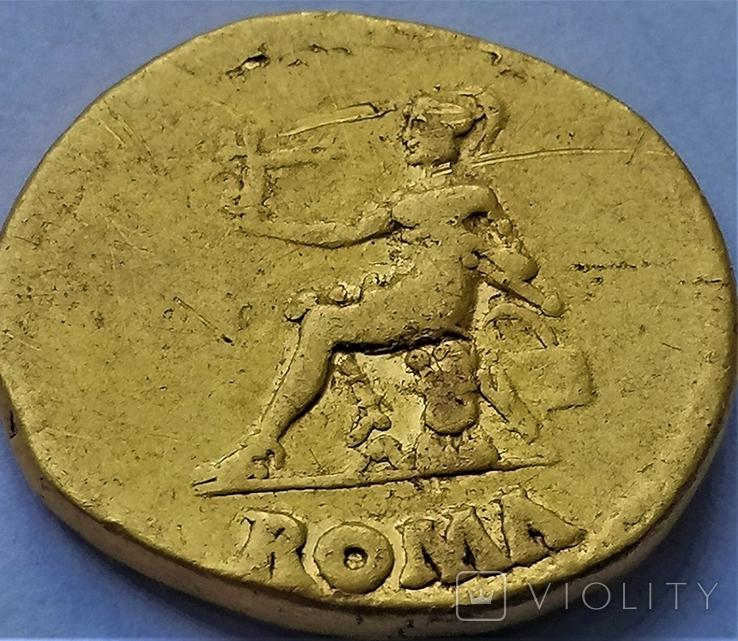 Ауреус Нерона, Римська імперія, 54-68 рр., золото, фото №4