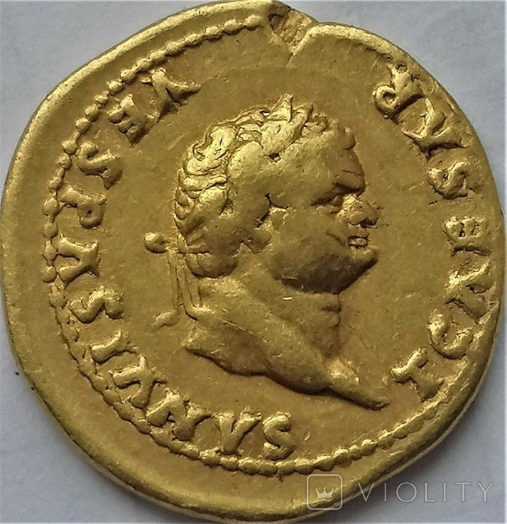 Ауреус Тіта, Римська імперія, 78- 81 рр., фото №2