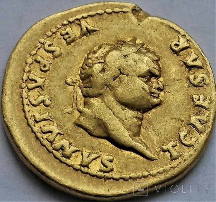 Ауреус Тіта, Римська імперія, 78- 81 рр., фото №4
