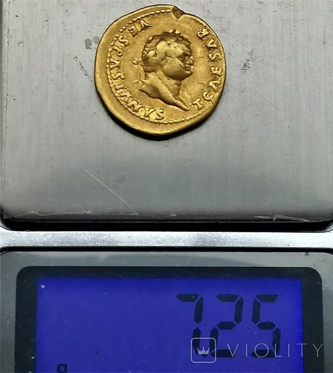 Ауреус Тіта, Римська імперія, 78- 81 рр., фото №6