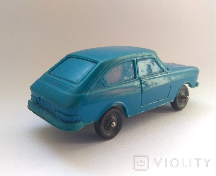 Винтажное авто Фольксваген 411, ГДР, фото №5