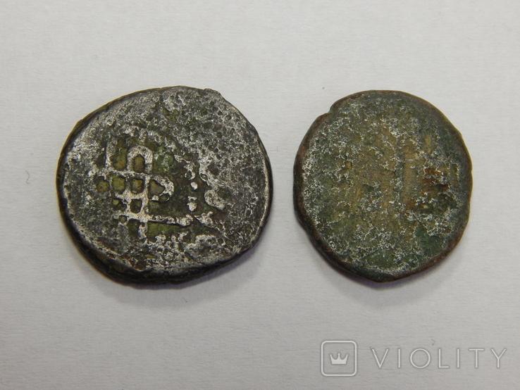 2 медные арабские монеты, фото №3