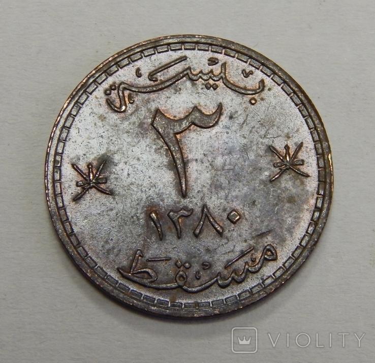 Монета Омана, фото №2