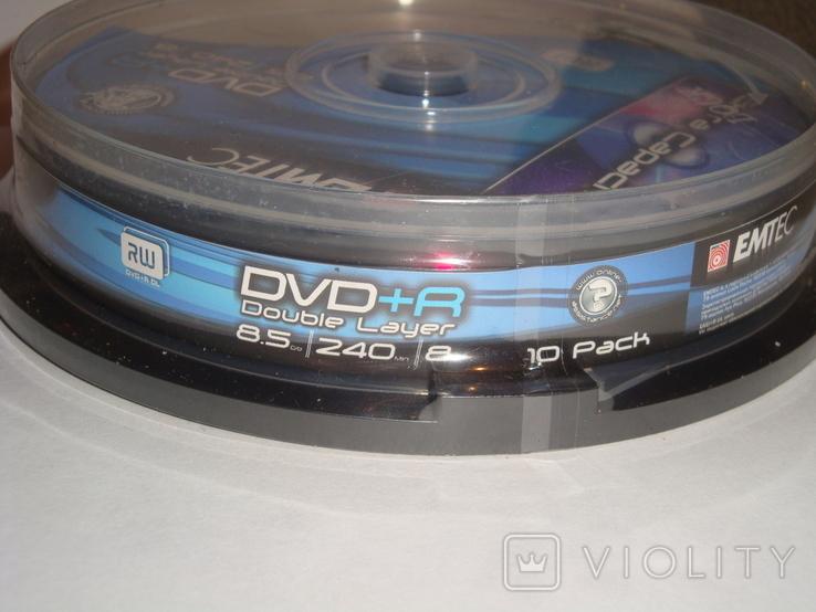 Компакт диски EMTEC DVD+R, фото №5