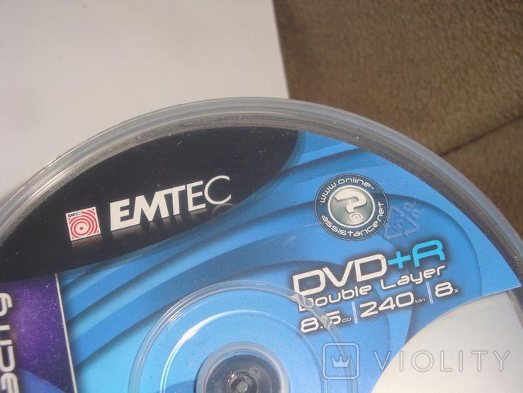 Компакт диски EMTEC DVD+R, фото №6