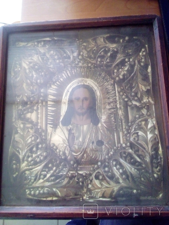 Икона начало 20 века Иисус Христос, фото №5