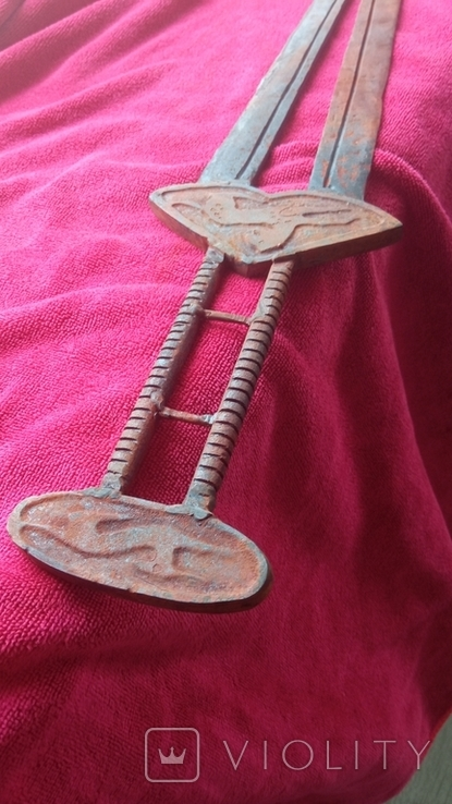 Скифский меч, акинак. Тип Чертомлык. (81см) Копия., фото №4