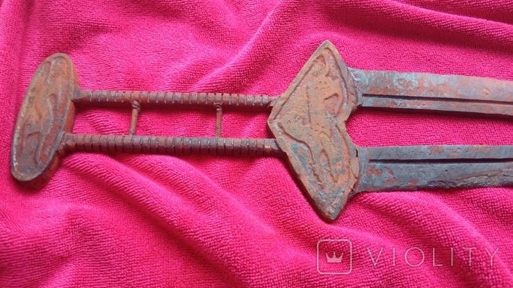 Скифский меч, акинак. Тип Чертомлык. (81см) Копия., фото №6
