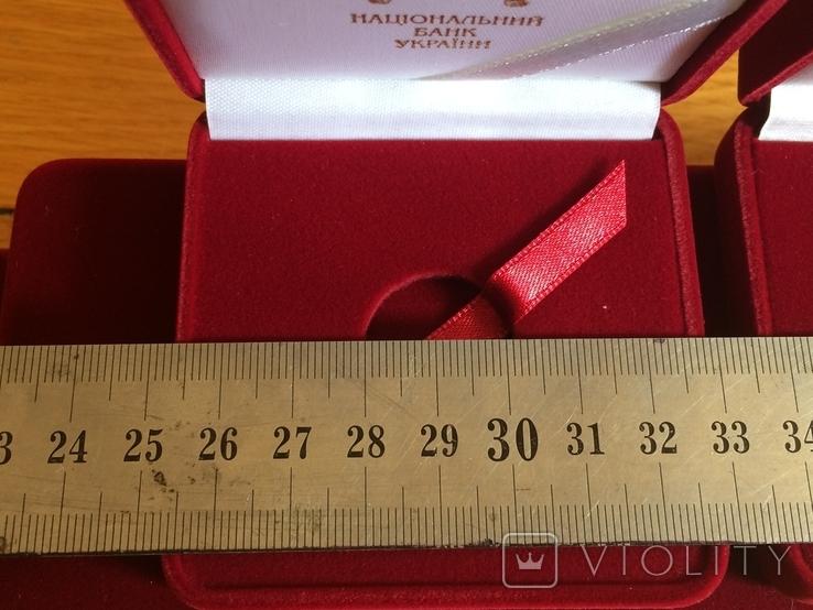 Футляры НБУ для золотых монет 2 гривны знаки зодиака 9 шт, фото №4
