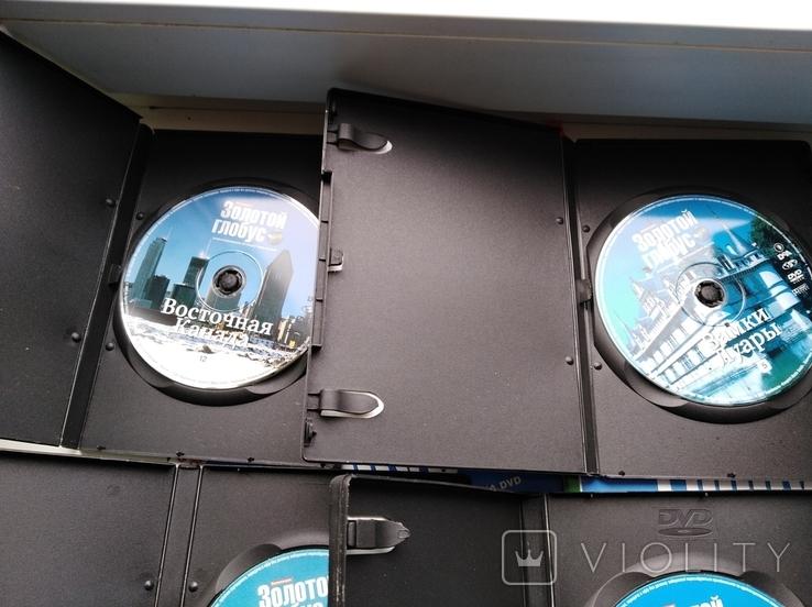 """6 дисков DVD + 6 журналов DeAgostini """"Золотой глобус"""", фото №6"""