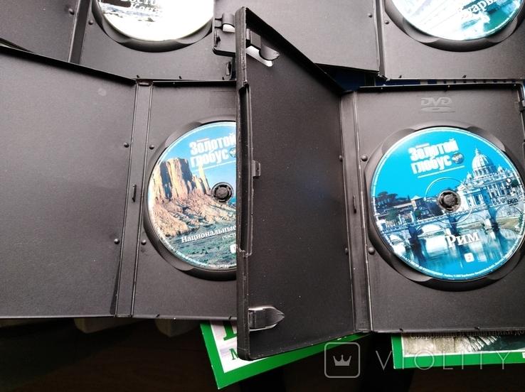 """6 дисков DVD + 6 журналов DeAgostini """"Золотой глобус"""", фото №7"""