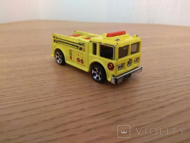 Машина пожежна Hot Wheels, Mattel Inc., 1976 року, фото №6