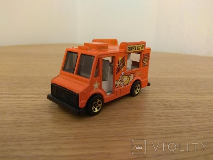 Машина фургон для продажу морозива Hot Wheels, Mattel Inc., 1983 року, фото №4