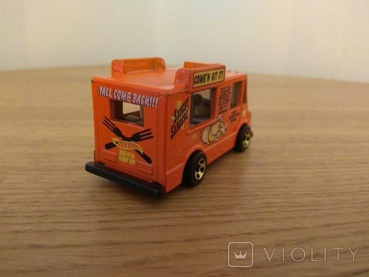 Машина фургон для продажу морозива Hot Wheels, Mattel Inc., 1983 року, фото №5