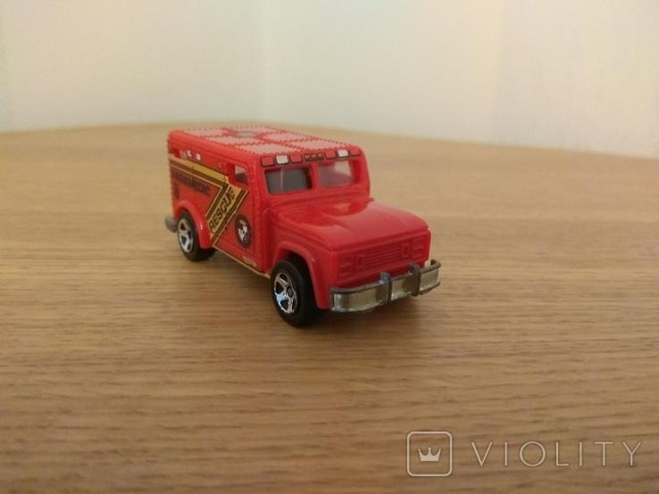 """Машина рятувальна """"Парамедик"""" Hot Wheels, Mattel Inc., 1996 року, фото №4"""