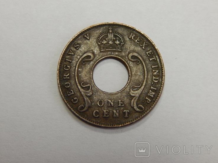 1 цент, 1930 г Британская Африка, фото №3