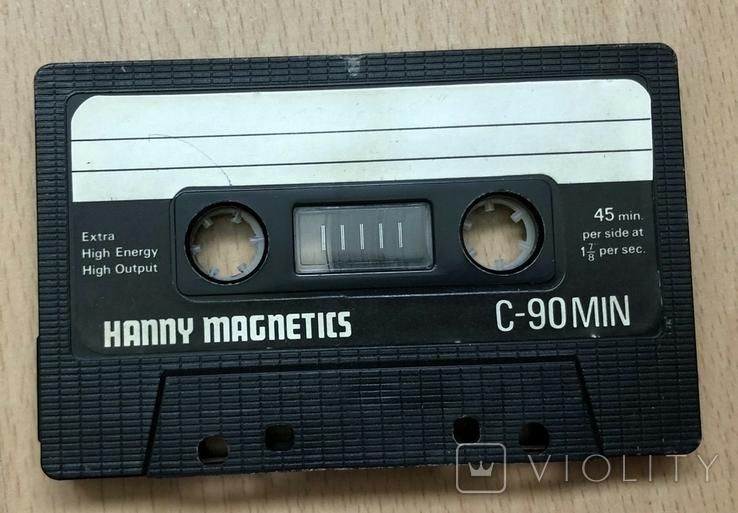 Аудиокасета hanny magnetics, фото №2