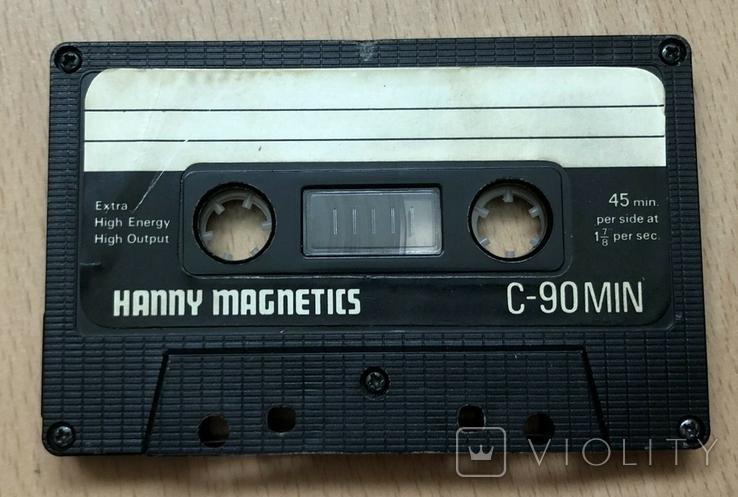 Аудиокасета hanny magnetics, фото №3