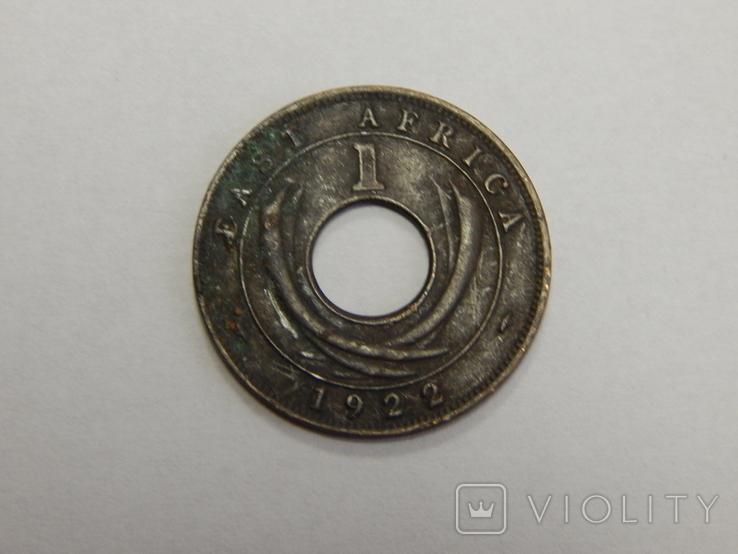 1 цент, 1922 г Британская Африка, фото №2