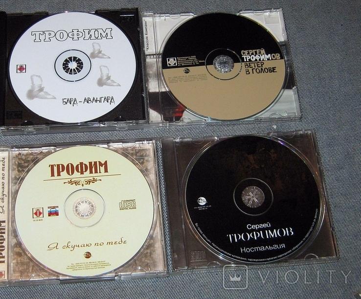 СD диски ТРОФИМ/4шт., фото №4