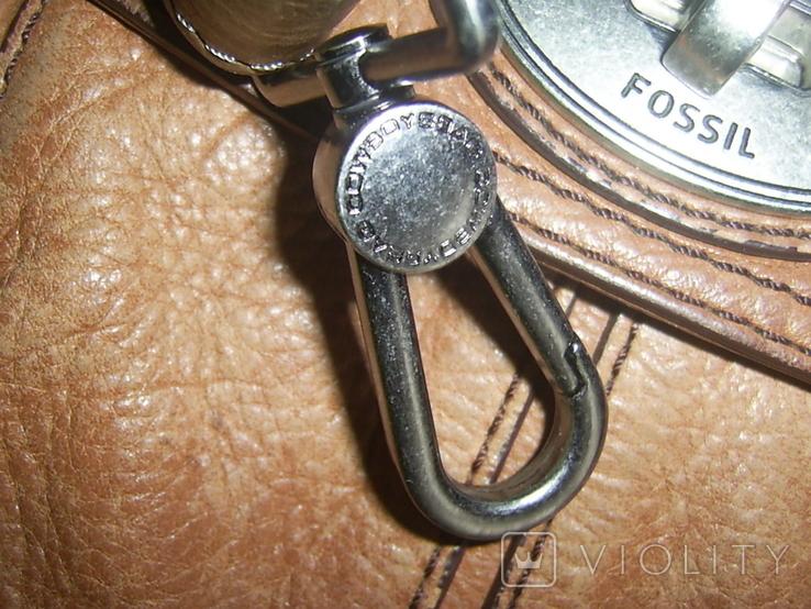 Сумка кожаная Fossil Long Live Vintage и наплечный ремень Cowboys Bag, фото №8