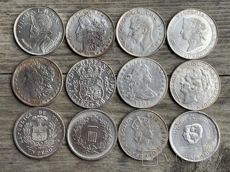 Копии редких монет Мира 12 шт, фото №2