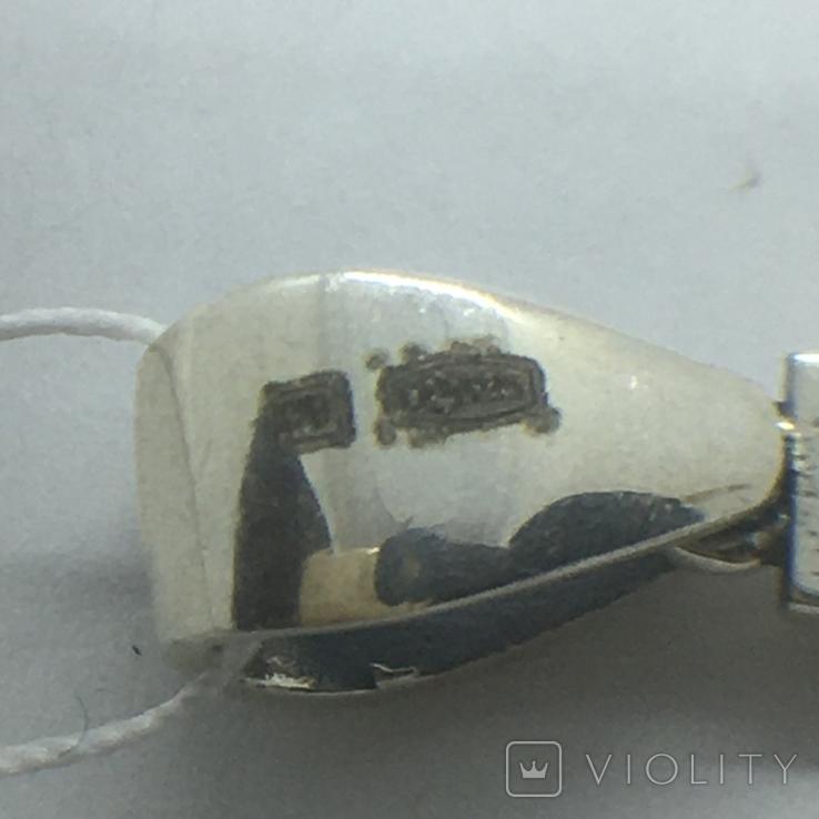 Подвес крест серебро, фото №9