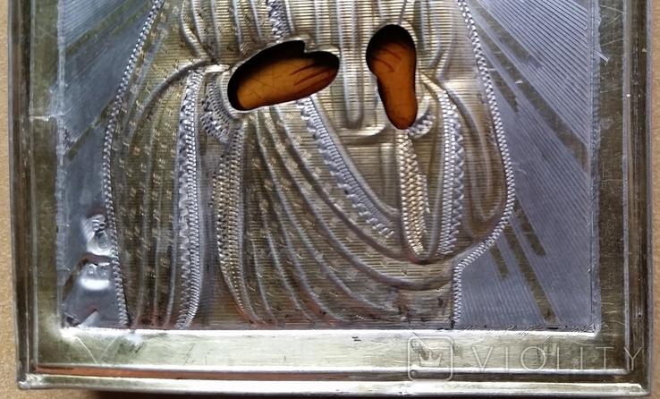 Іконка Св. муч. Віра, оклад срібло 84, фото №7