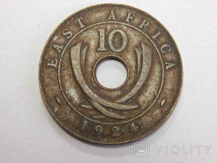10 центов, 1924 г Британская Африка, фото №2