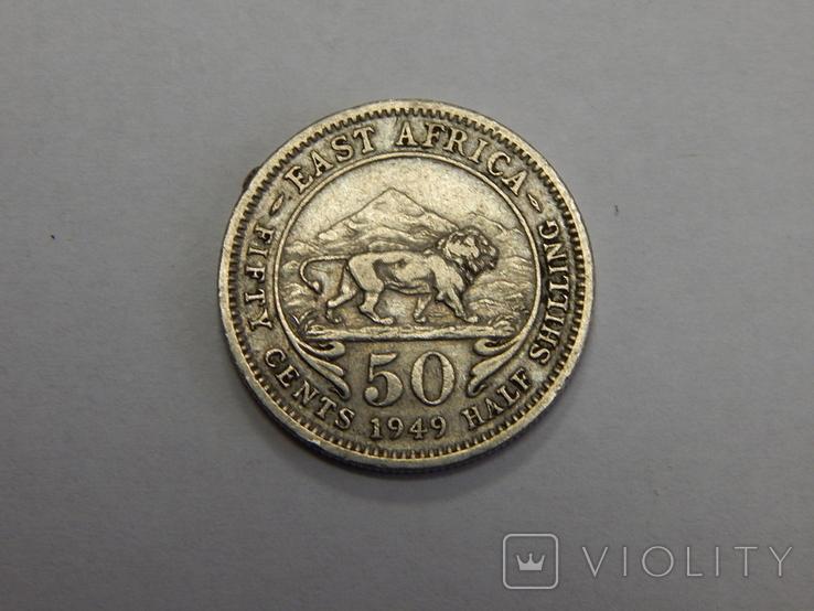 50 центов, 1949 г Британская Африка, фото №2