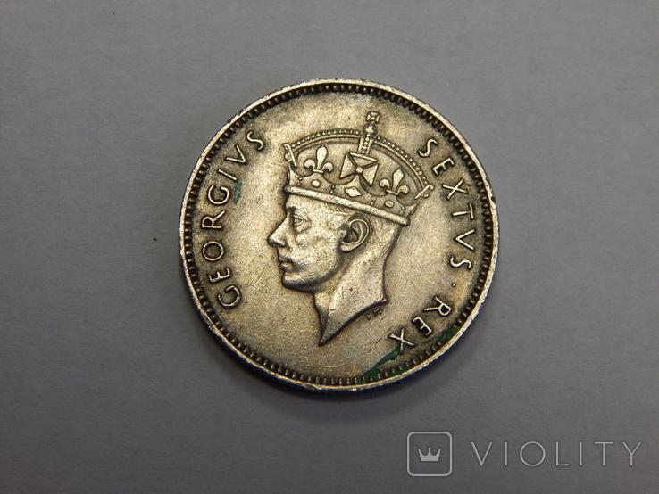 50 центов, 1948 г Британская Африка, фото №3