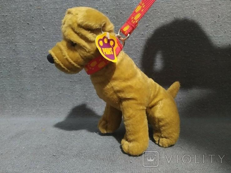 Новый Питбуль Англия Игрушка Собака на поводке, фото №2