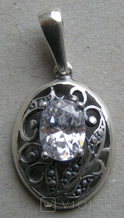 Кулон. Серебро 925 пр. Вес - 2,08 г., фото №3