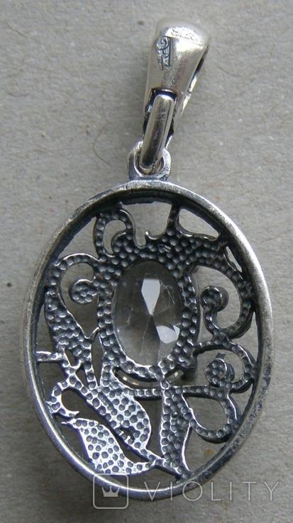 Кулон. Серебро 925 пр. Вес - 2,08 г., фото №4