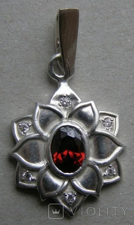 Кулон. Серебро 925 пр. Вес - 4,03 г., фото №3