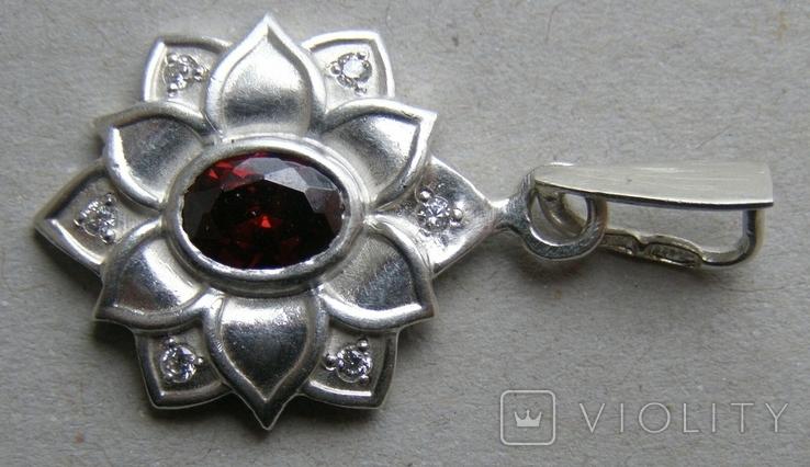 Кулон. Серебро 925 пр. Вес - 4,03 г., фото №4