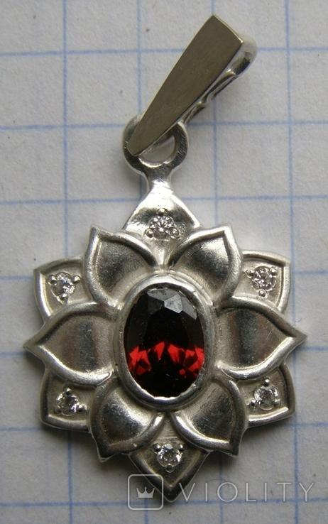 Кулон. Серебро 925 пр. Вес - 4,03 г., фото №7