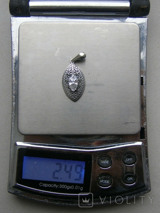 Кулон. Серебро 925 пр. Вес - 2,49 г., фото №2