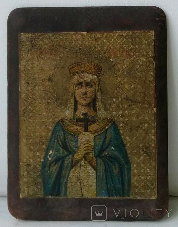 Икона Святая княгиня Ольга, фото №2